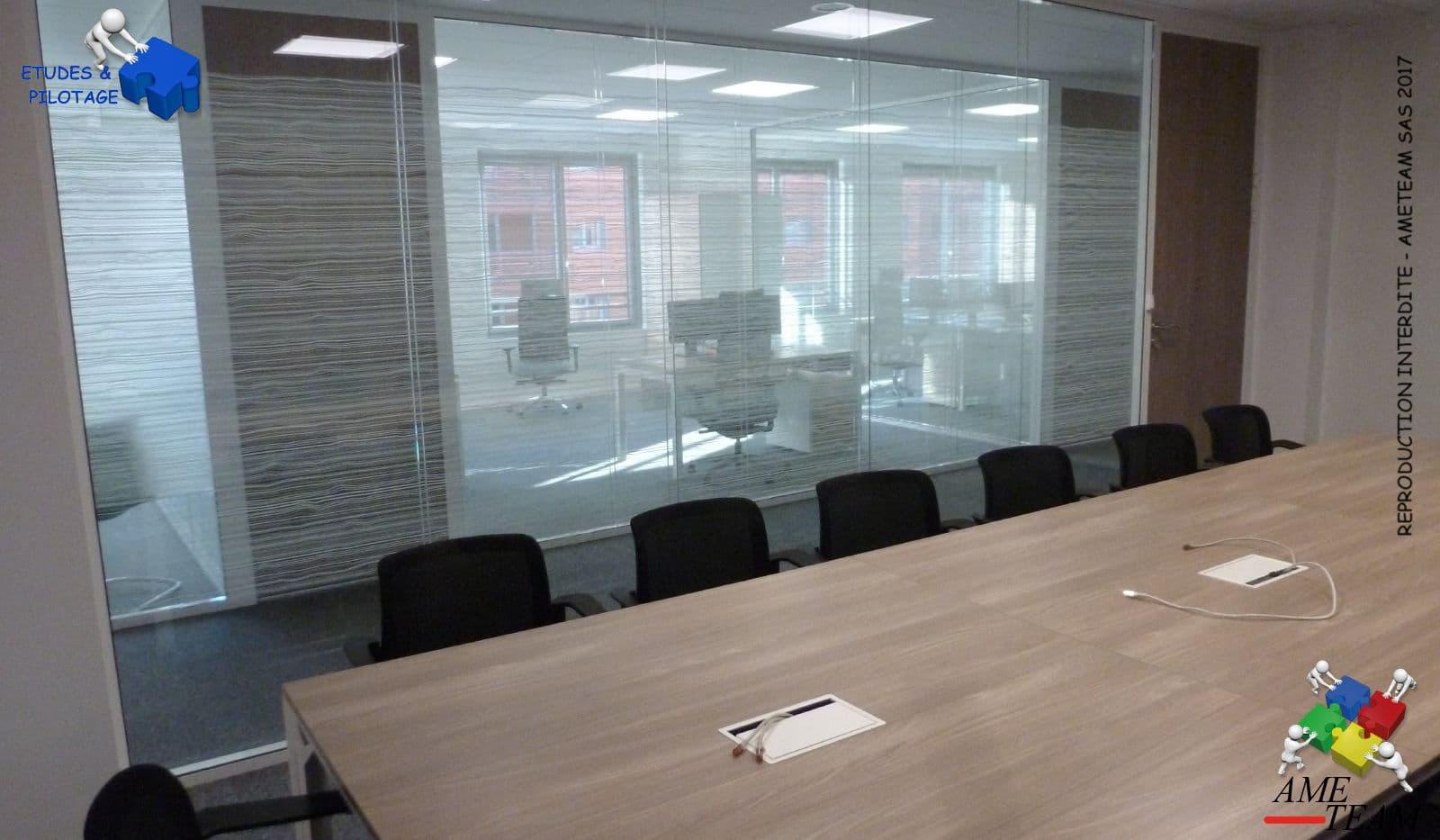 Projet UNOFI / CITY ONE : Salle de reunion