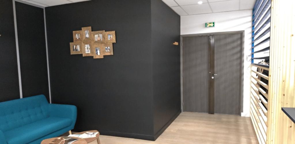 showroom aménagement Lyon Techlid par Ameteam