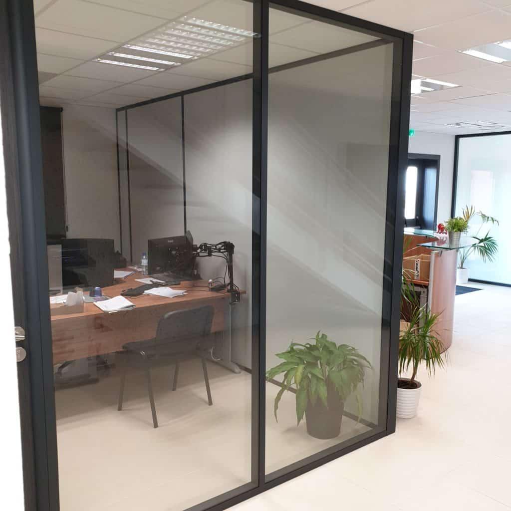 Aménagement de bureaux à Meyzieu, près de Lyon